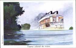 Haffner, L., vapeur colonial de rivière