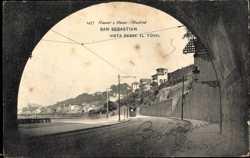 Vista desde el Tunel