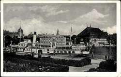 Hafen, Dampfer