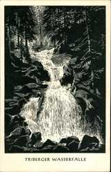 Künstler Ak, Wasserfälle