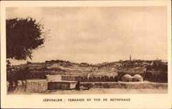 Terrasse, Vue de Bethphage