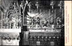Golgatha, lateinischer Altar