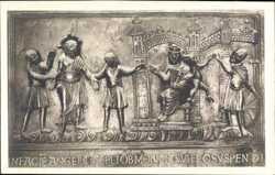 Bernwardstür, Christus vor Pilatus