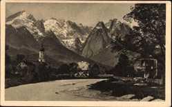 Kirche, Berge
