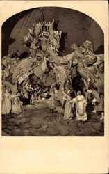 Anbetung der Hirten, Hauptgruppe der Weihnachtskrippe