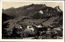 Kloster gegen Sonnengebirge