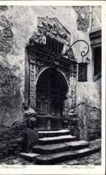 Altes Rathausportal
