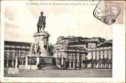 Praca do Commercio e Castello de S. Jorge