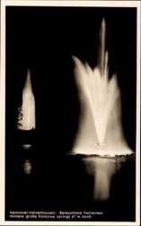 Beleuchtete Fontainen