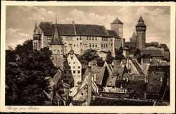 Blick zur Burg
