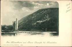 im Mondschein, Ruine Ehrenfels