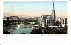 Johanneskirche mit Feuersee