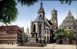 Stiftskirche, Schillerdenkmal