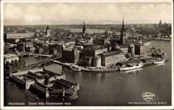 Utsikt fran Stadhusets torn