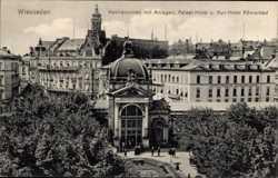 Kochbrunnen, Palast Hotel