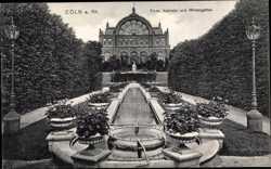 Kaskade, Wintergarten