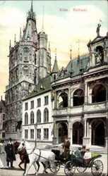 Rathaus, Pferdekutsche