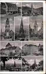 Kaufhaus, Müster, Martinstor, Theater, Universität