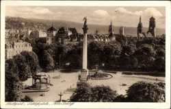 Schlossplatz, Altes Schloss, Säule