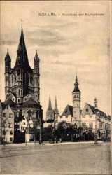 Stapelhaus und Martinskirche