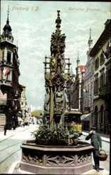 Gotischer Brunnen