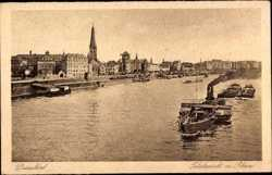 Totalansicht am Rhein