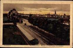 Rheinpanorama, Brücke