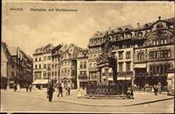 Marktplatz, Marktbrunnen