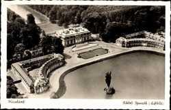 Schloss Benrath, Luftbild