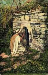 Araber beim Gebet