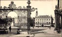 Place Stanislas, Vue generale
