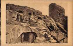 Oberburg mit großem Burgverlies, Wachtturm