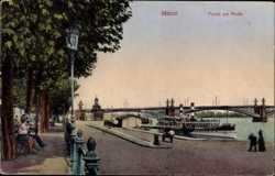 Partie am Rhein