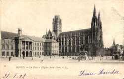 Place et Eglise Saint Ouen