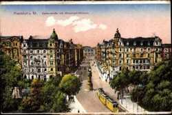 Kaiserstraße, Manskopf Uhrturm