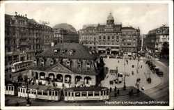 Hauptwache, Schillerplatz, Straßenbahn