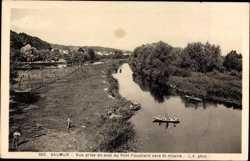 Vue prise en aval du Pont Fouchard
