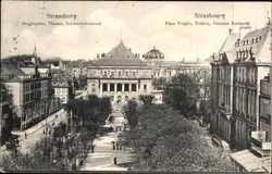 Broglieplatz, Theater, Reinhardtsbrunnen