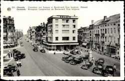 Carrefour rue Longue et Boulevard Van Iseghem