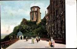 Altan, achteckiger Turm