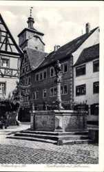Kapellenplatz, Seelbrunnen