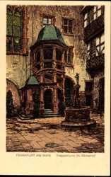 Treppenturm im Römerhof