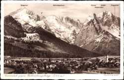 gegen Wettersteingebirge