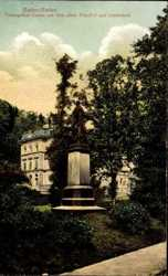 Totengräber Statue, Friedhof, Landesbad