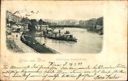 Donau Kanal, Stefanie Brücke