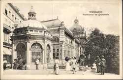 Kochbrunnen, Quellenanalge