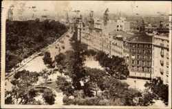 Calle de Alcala, desde las escuelas de Aguirre