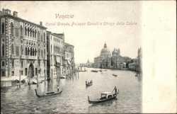 Canal Grande, Palazzo Cavalli, Chiesa della Salute