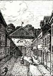 Silberner Ecke