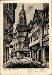 Marktstraße mit Schirne, Dom